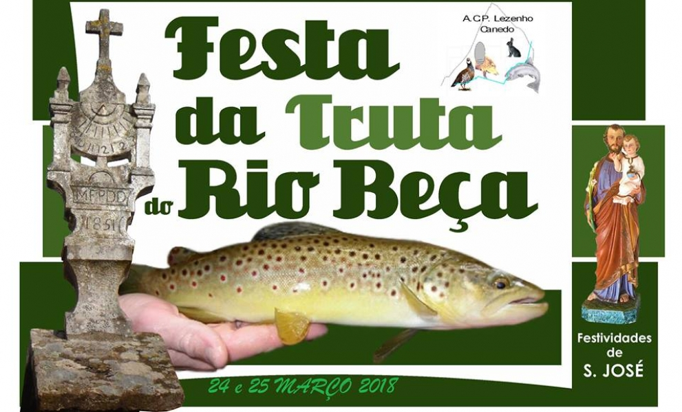 Festa da Truta do Rio Beça - Canedo
